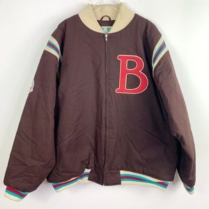 Rucker Vintage Brooklyn Bomber Letterman Jacket